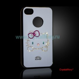 Крышка на iPhone  www.crystalmary.ru