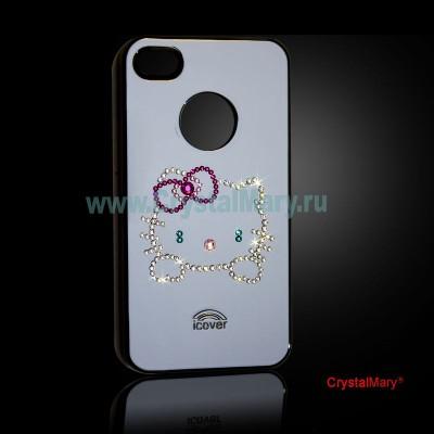 Крышка на iPhone www.crystalmary.ru