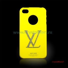 Панель на iPhone 4 LV  www.crystalmary.ru
