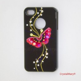 Крышка на iPhone 4G  www.crystalmary.ru