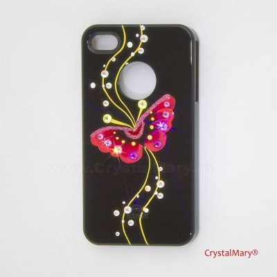 Крышка на iPhone 4G www.crystalmary.ru