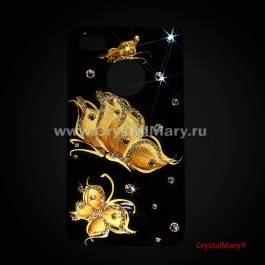 Крышка для iPhone 4 и iPhone 4S  www.crystalmary.ru