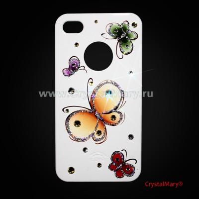 Чехол ( icover) для iPhone 4 и iPhone 4S www.crystalmary.ru