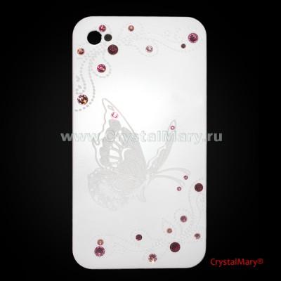 Чехол для iPhone 4G и iPhone 4S www.crystalmary.ru