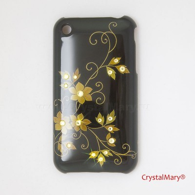 Крышка на iPhone 3G www.crystalmary.ru