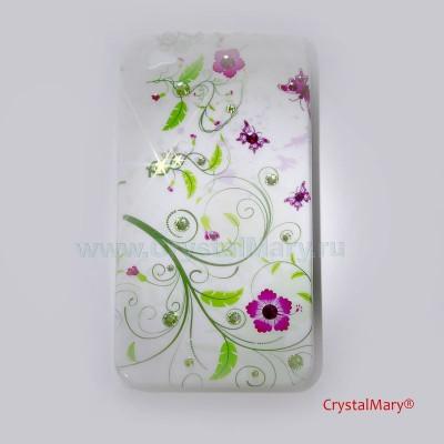 Панель на iPhone 4G/S www.crystalmary.ru