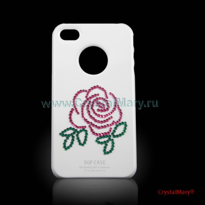 Чехол на айфон: Московские розы www.crystalmary.ru