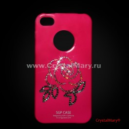 iСover для iPhone 4G и iPhone 4S  www.crystalmary.ru