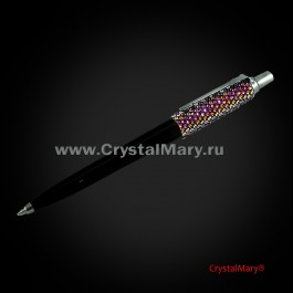 Parker. Ручка со стразами  www.crystalmary.ru