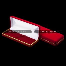 Бархатный футляр в ассортименте  www.crystalmary.ru