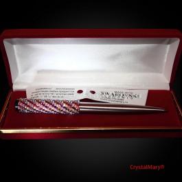 Parker со стразами Swarovski Crystal Volcano+Crystal AB  www.crystalmary.ru