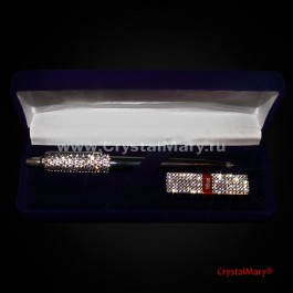 Набор Ручка Parker и Флешка Transcend 16Gb Crystal  www.crystalmary.ru