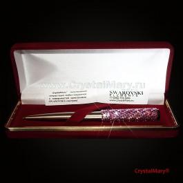 Ручка Parker со стразами Swarovski  www.crystalmary.ru