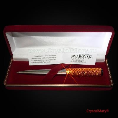 Шариковая ручка Parker со стразами Swarovski www.crystalmary.ru