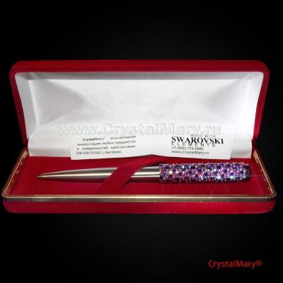 Ручка шариковая Ежик www.crystalmary.ru
