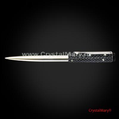 Мужская ручка Паркер с кристаллами Swarovski www.crystalmary.ru