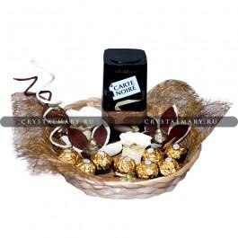 Подарочный набор кофе  www.crystalmary.ru