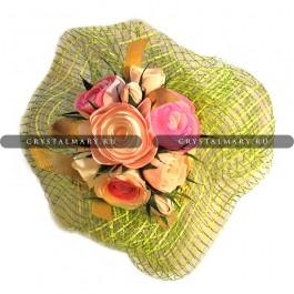 Букет из конфет розы  www.crystalmary.ru