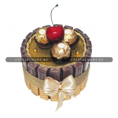 Торт из конфет www.crystalmary.ru