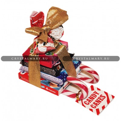 Новогодние подарки детям: Сани Деда Мороза www.crystalmary.ru