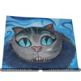 Картина Чеширский кот  www.crystalmary.ru