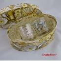 Бокалы с кристаллами Swarovski www.crystalmary.ru