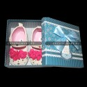 Пинетки для новорожденных www.crystalmary.ru