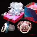 Оригинальные подарки для новорожденных со стразами Swarovski www.crystalmary.ru