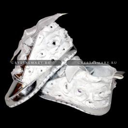 Кроссовки для малышей со стразами Swarovski (Австрия)  www.crystalmary.ru
