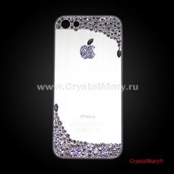 Панель на айфон с россыпью кристаллов Swarovski