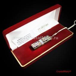 Флешка с кристаллами swarovski