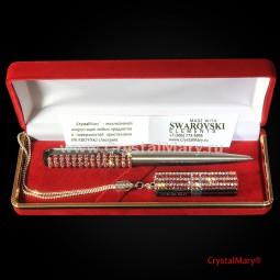 Женский подарочный набор Parker: Light Siam+CrystalAB