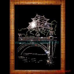 Картина из страз Swarovski: Восточная Ночь