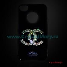 Крышка на iPhone 4 www.crystalmary.ru