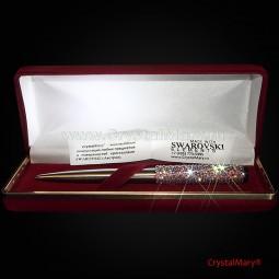 Parker. Ручка с кристаллами Сваровски