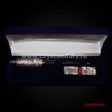 Набор Ручка Parker и Флешка Transcend 16Gb Crystal www.crystalmary.ru
