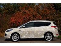 Ford Kuga, украшенный стразами Swarovski и бриллиантами