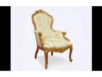 Королевское кресло, украшенное Swarovski