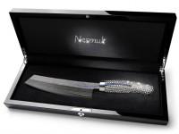 Нож для шеф-повара, украшенный Swarovski