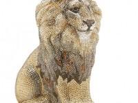 Сумочка-косметичка «Astor Crystal Lion Minaudiere» из коллекции «Pre-Fall 2012» компании «Judith Leiber»