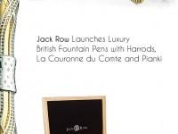 Ручки и запонки, инкрустированные бриллиантами, отдают должное Башне Мэри-Экс в Лондоне