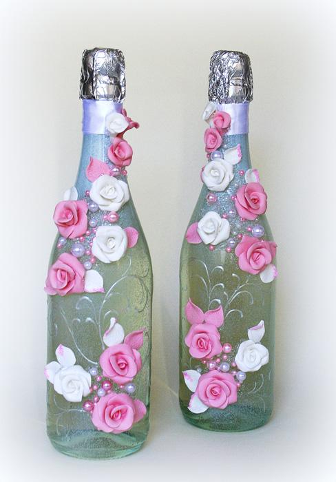 100 лучших идей: декор бутылок