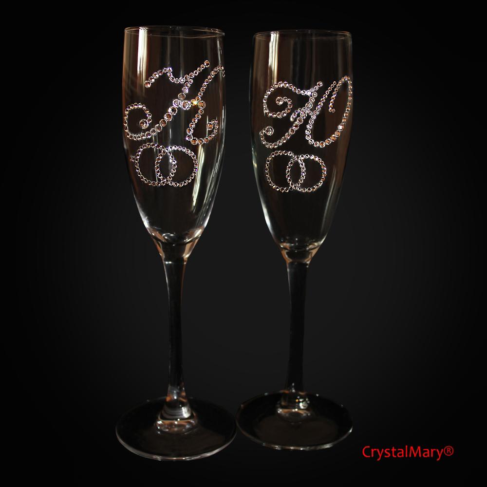Свадебные бокалы цена 144