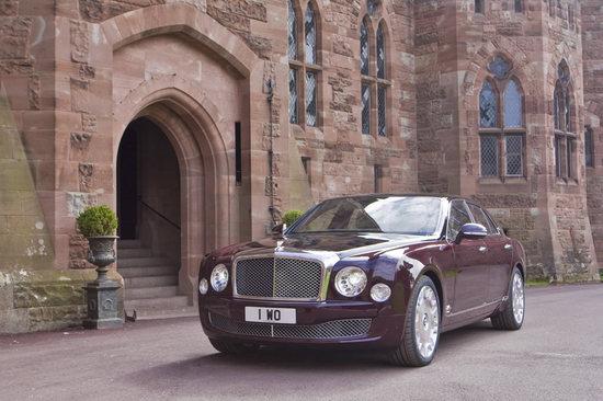 Ограниченная серия Bentley Mulsannes