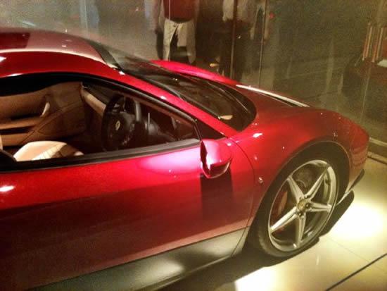 автомобиль Эрика Клептона Ferrari