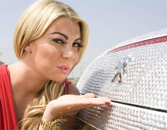 авто с бриллиантами
