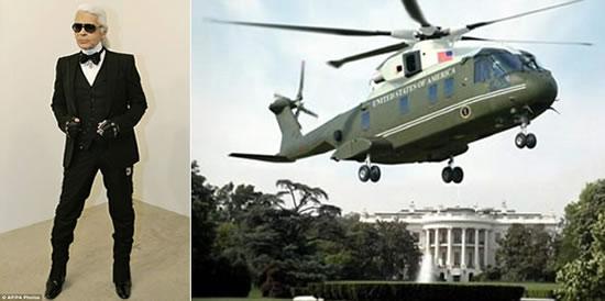 вертолет по дизайну Карла Лагерфельда