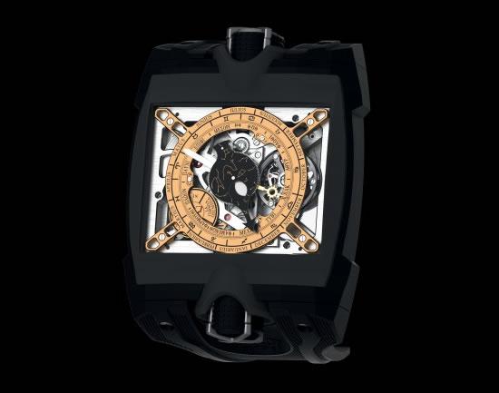 часы Hublot  на основе механизма Antikythera