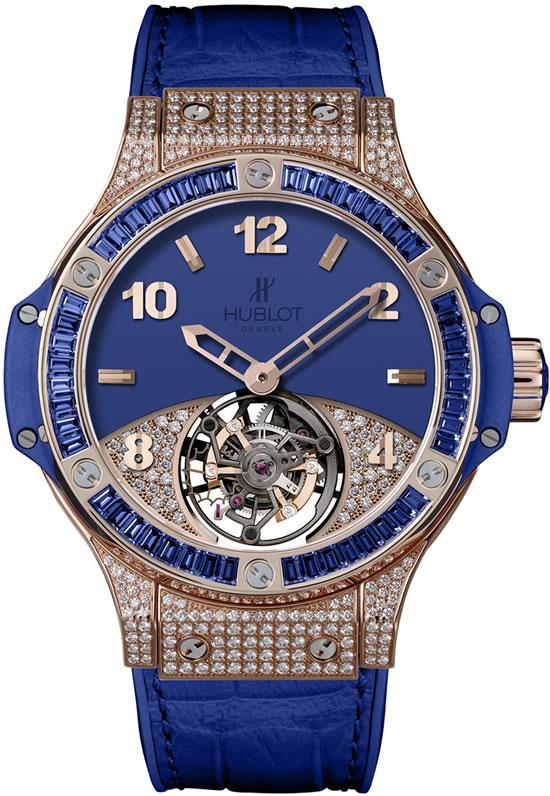 часы с бриллиантами Hublot