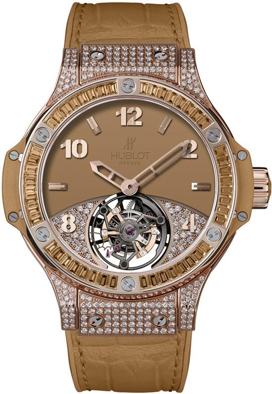 Hublot золотые часы с бриллиантами
